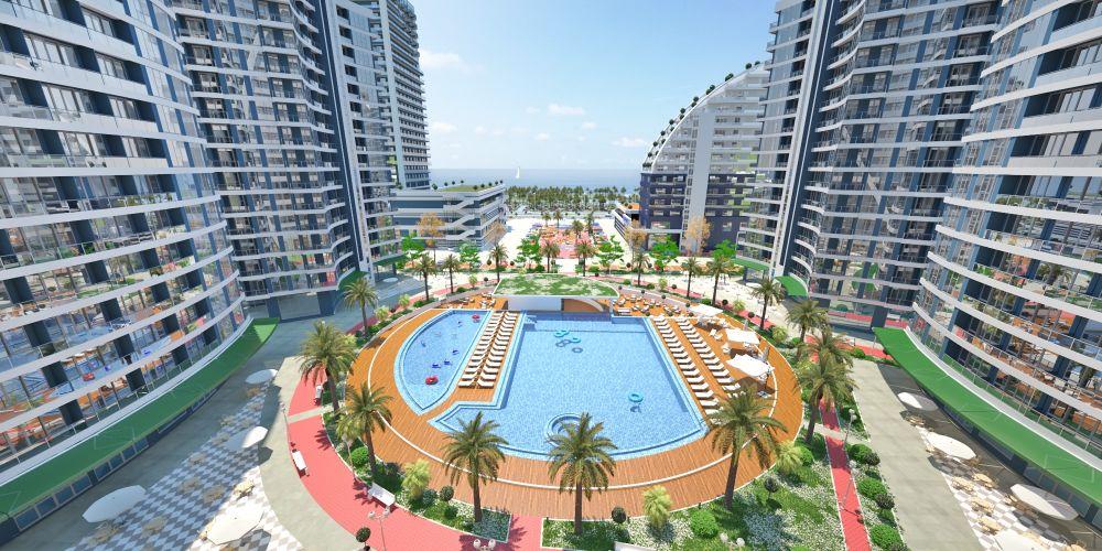27-meter outdoor swimming pool