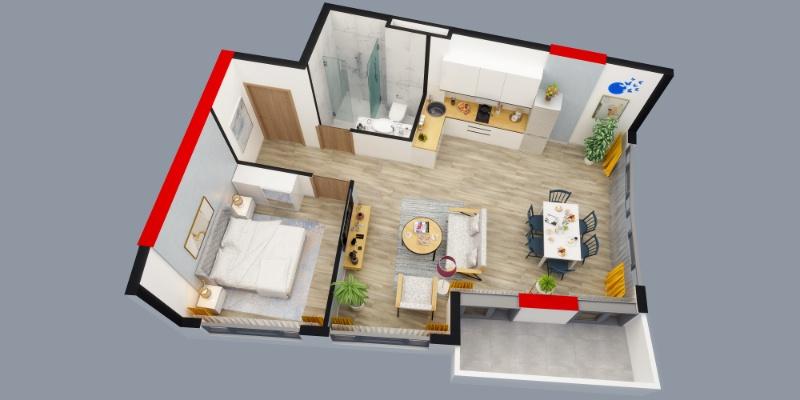 Апартаменты с завершенным ремонтом